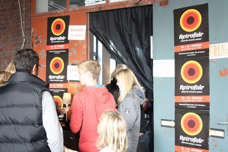 Eingangsbereich Retrofair 2013